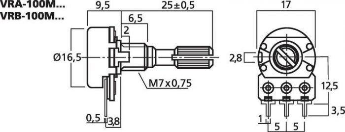 MONACOR VRB-100M1