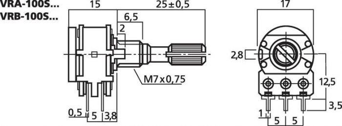MONACOR VRB-100S10