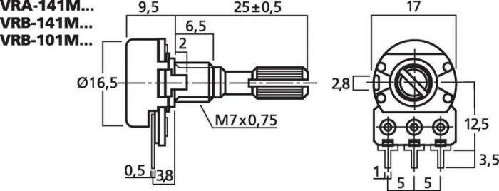 MONACOR VRB-101M10