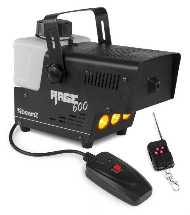 beamz-rage-600 led-savukone-langattomalla-ohjaimella