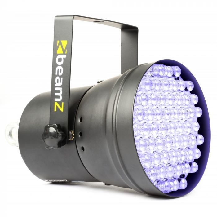 BEAMZ DMX LED PAR 36 UV-Spotti on 55x10mm