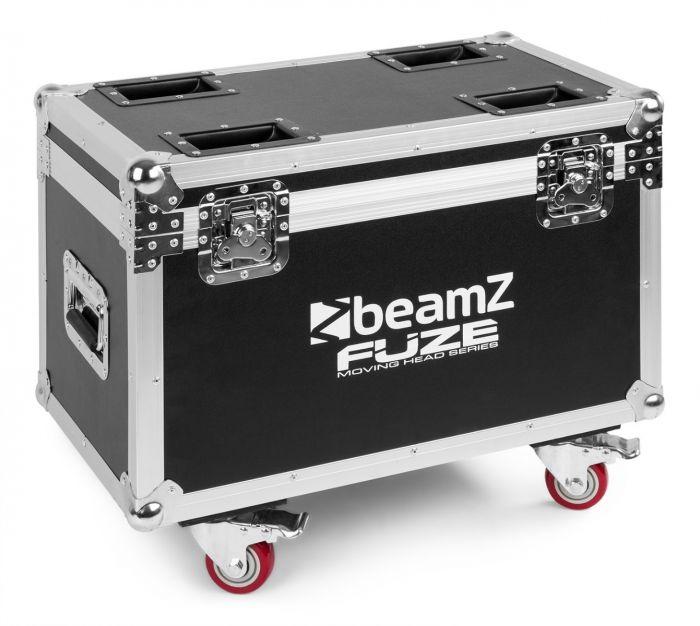 BEAMZ FCFZ4 Flightcase for 4 pieces Fuze Series Moving Heads