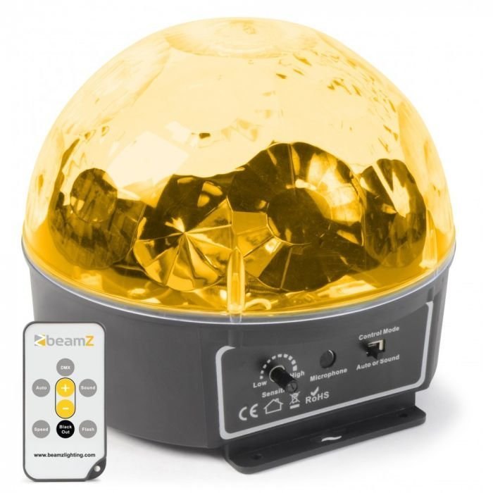 BeamZ Mini Star Ball 6x 3W RGBAWP