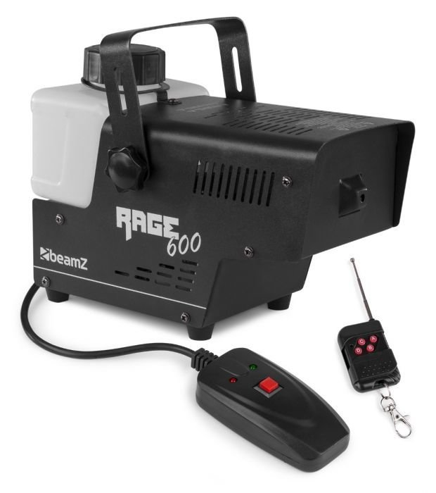 BeamZ Rage 600 Savukone langattomalla ohjaimella edullinen