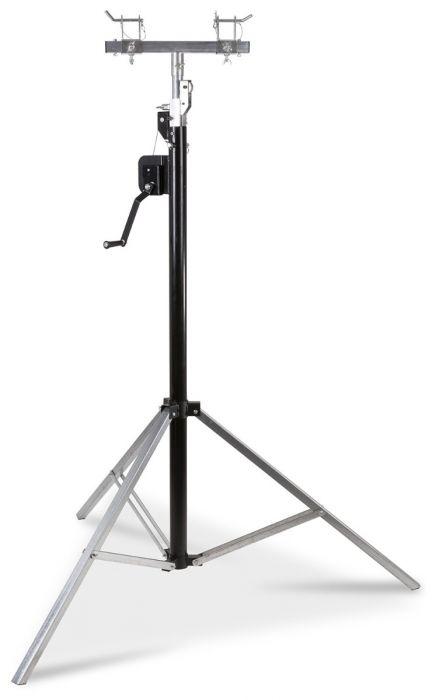 BEAMZ WLS45 WINCH UP LIGHTING STAND 4.5M trussi adapterilla ja vinssillä max 60kg