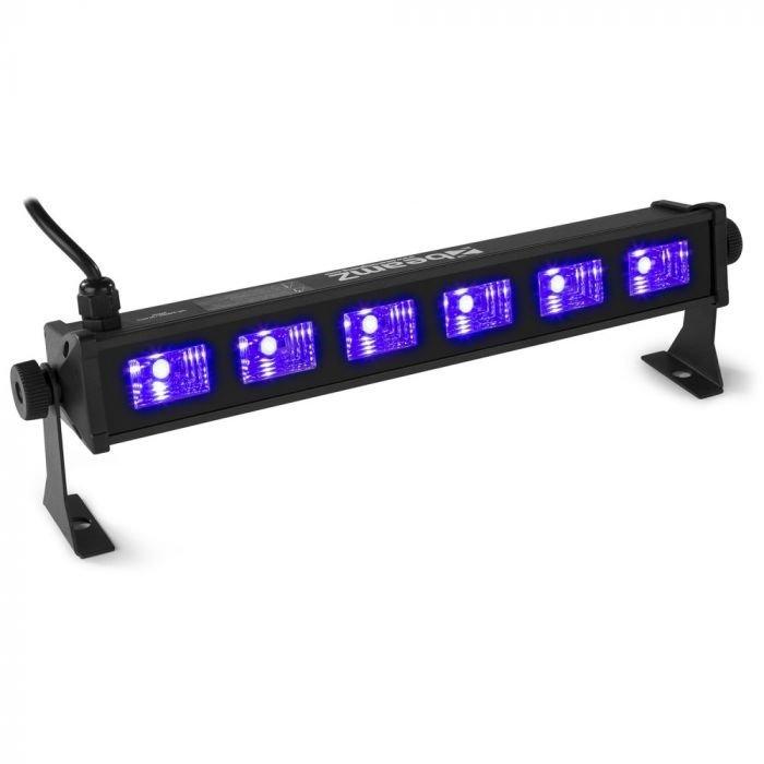 BEAMZ BUV63 Tehokas UV LED valaisin palkki 6x 3W