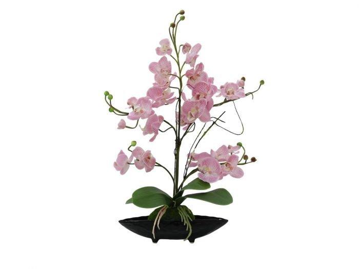EUROPALMS 40cm Orkidea-asetelma purppura  046548810a