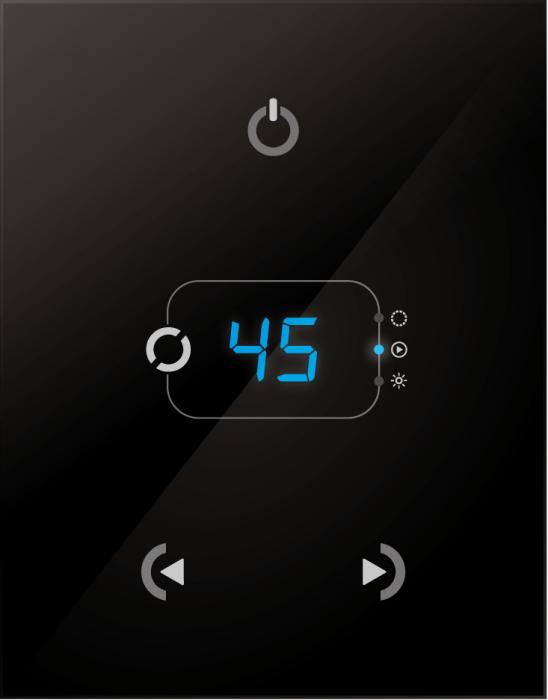 NICOLAUDIE STICK-GA2  Tyylikäs kosketuspaneeli DMX ohjain - 512 kanavaa - 99 sceneä