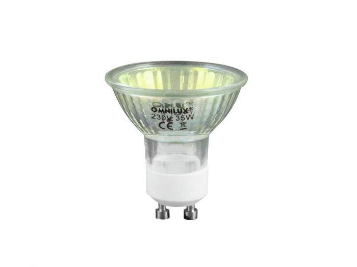 OMNILUX 35W Halogeenilamppu GU10 230V 1500h oranssi