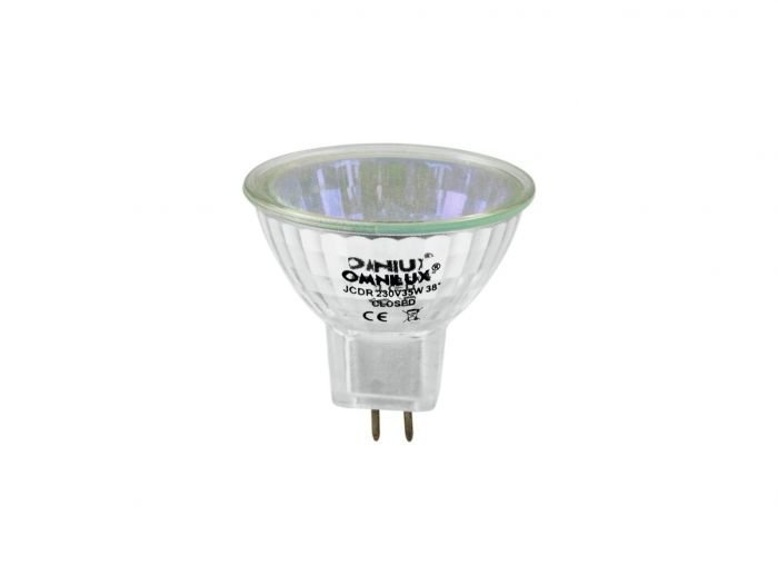 OMNILUX JCDR 35W Halogeenilamppu GX5.3 230V vihreä 1500h 50mm heijastin himmennettävä