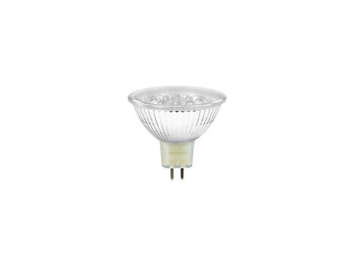 OMNILUX MR-16 1,5W LED-lamppu GX5.3 12V punainen + C