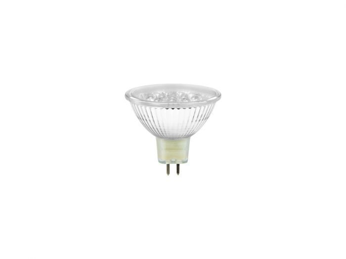 OMNILUX MR-16 1,5W LED-lamppu GX5.3 12V vihreä + C