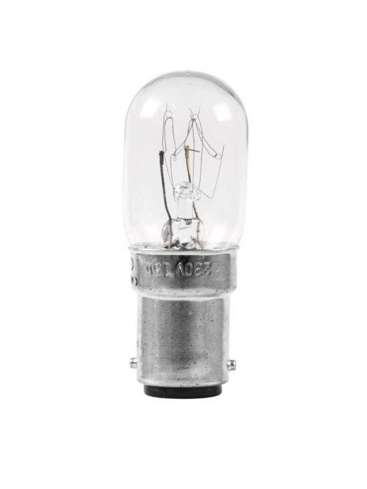 OMNILUX T20 15W lamppu BA 15d 230V valkoinen 2000h