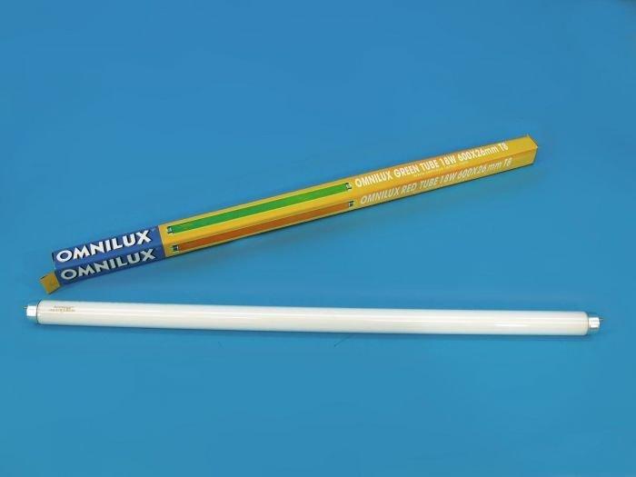 OMNILUX T8 loisteputki 18W G13 600 x 26mm sininen