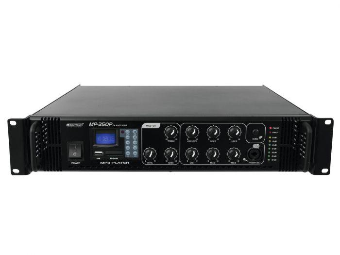 OMNITRONIC MP-350P PA 100V mikserivahvistin 350W