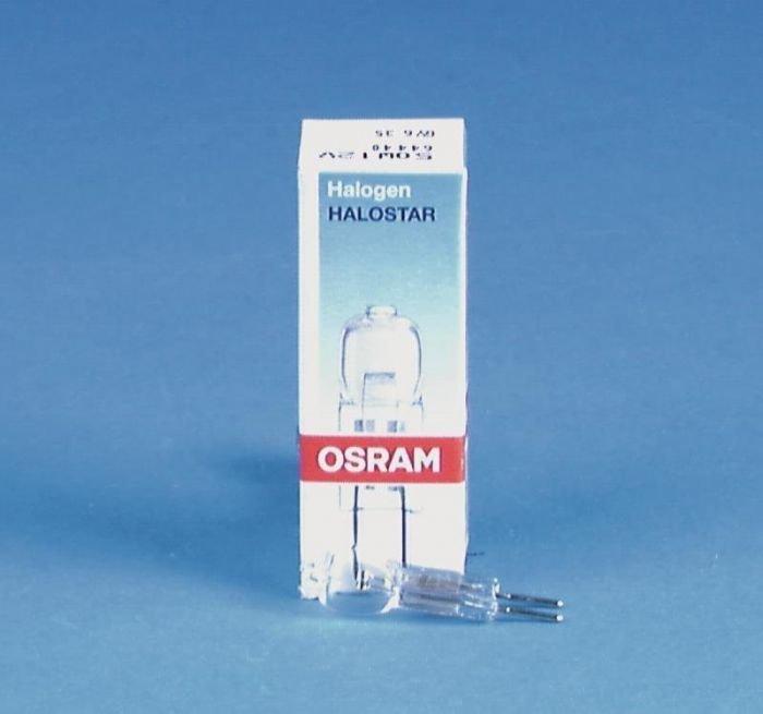 OSRAM 64440 HALOSTAR 50W Halogeenilamppu GY6.35 12V 3000K 2000h himmennettävä