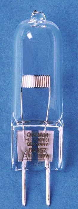OSRAM 64657HLX EVC M33 lamppu 250W G6.35 24V 3200K