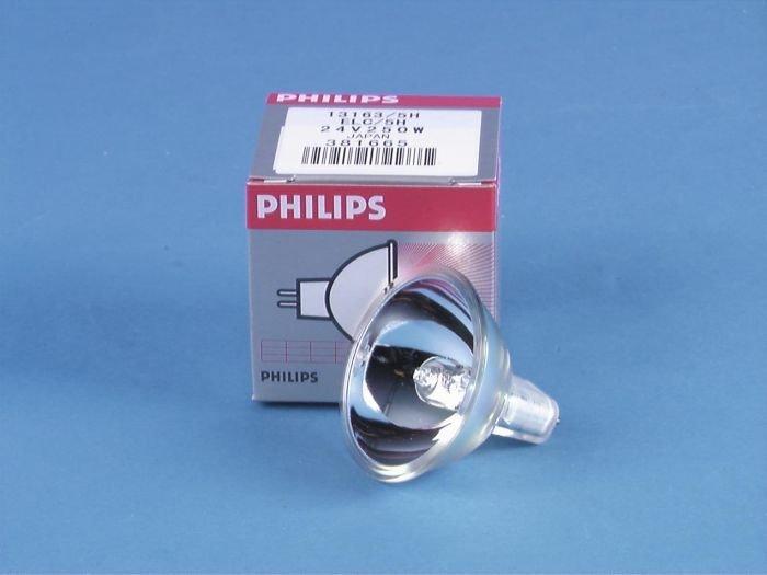 PHILIPS ELC 250W Halogeenilamppu GX5.3 24V 3400K 500h 50mm heijastin himmennettävä