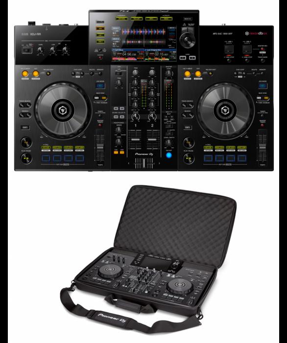 pioneer-xdj-rr-dj-kontrolleri-usb-soitolla bag bundle