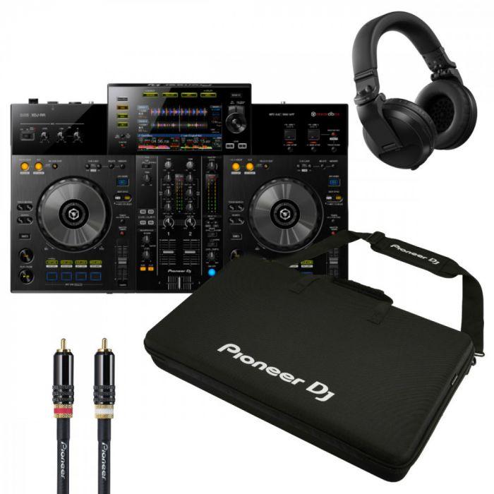 pioneer-xdj-rr-dj-kontrolleri-bundle-kuulokeet-case-kaapeli