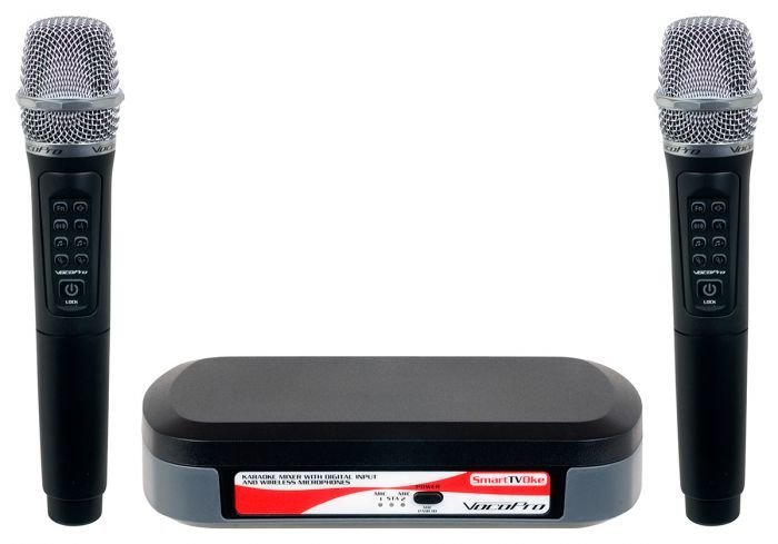 VOCOPRO SmartTVOke langaton karaoke 2 x mikrofoni