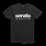 SERATO Power Of Music T-paita musta, koko L erittäin tyylikäs original serato paita logolla