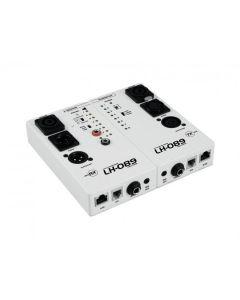 OMNITRONIC LH-089 Kaapelitesteri showtekniseen käyttöön signaalin testaus studioon ja stagelle