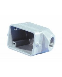 EUROLITE Socket casing for 6-pole, PG13,5, angle