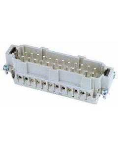 EUROLITE Plug insert 24-pole 16A,screw terminal