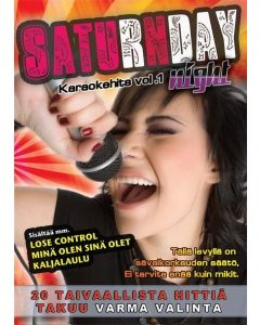 SATURDAYNIGHT Karaoke vol 1 DVD levyltä löydät