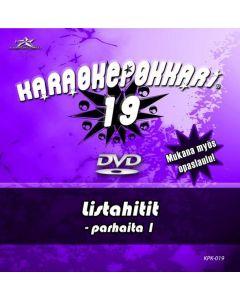 KARAOKEPOKKARI Vol 19 DVD Listahitit 1 Karaoke
