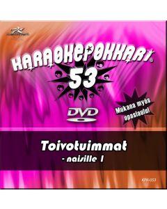 KARAOKEPOKKARI DVD Karaokepokkari 53 Toivotuimmat
