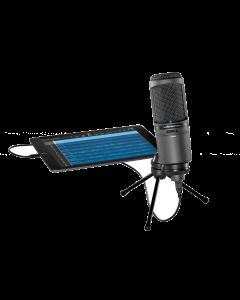 AUDIO-TECHNICA AT2020USBi -kondensaattorimikrofoni USB-liitännällä äänitykseen