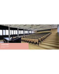 Auditorion äänentoisto ja luentosalin äänentoisto