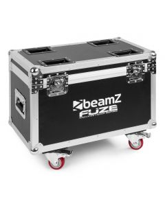 BEAMZ FCFZ4 Flightcase for 4 pieces Fuze Series Moving Heads
