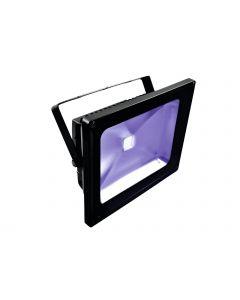 EUROLITE LED IP54 FL-50 UV-valaisin 50W UV COB LED