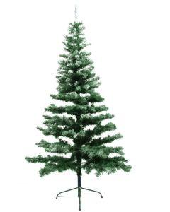 EUROPALMS 240cm Tuuhea huurteinen joulukuusi