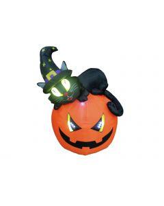 EUROPALMS Halloween JÄTTI noitakurpitsa 150cm