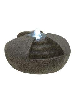 EUROPALMS Vesilähde Water Stone valkoisilla