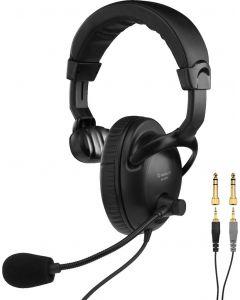monacor-bh-009s kuulokemikrofoni mono kuulokkeella