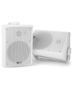 POWERDYNAMICS WS50A WiFi/BT Amplified Speaker Set 5.25 - Aktiivikaiutinpari sääsuojattu IPX5 - Monihuone wifi