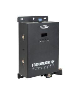 SHOWTEC Festoonlight Q4 Controller  - Pikseliohjain virtalähde valoketjulle DMX - Artnet
