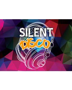 Vuokraus - Vuokraa Silent disco symphony - Hiljainen disco setti 30 x kuuloketta sekä 1kpl lähetin